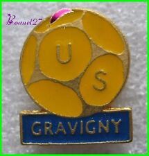 Pin's Sport Football Ballon US ville GRAVIGNY   #G5