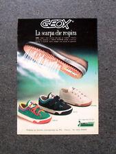 I230-Advertising Pubblicità-1990- GEOX , LA SCARPA CHE RESPIRA