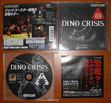 Dino Crisis 1 CAPCOM PlayStation, PS1, PSX, PSone NTSC-J Japan Import, Importado