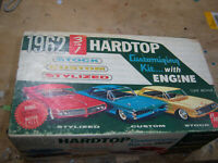 AMT 1962 Thunderbird MODEL BOX AND LID ONLY.