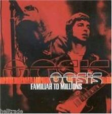 OASIS / FAMILIAR TO MILLIONS - LIVE * NEW 2CD'S * NEU *