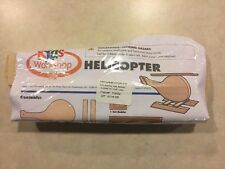 Home Depot Kids Workshop Helicopter Wooden Kit