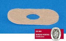 #202N Narrow Adhesive Flesh Felt Pre-Cut Pads 100 Per Bag Made In USA Brand New