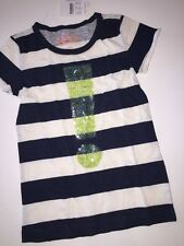 NWT Crewcuts J CREW 4-5 Yr Exclamation! Sequin Girls Collectible Tee Top T-shirt