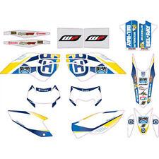 Kit de gráficos de fábrica ENDURO HUSQVARNA TE 250 2014 PN:81308990100 HTM offroad