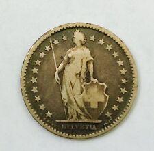1875 Switzerland 2 francs (Helvetia 2 Francs)