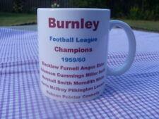 Burnley 1959/60 League Championship team mug 11oz original (brand new)