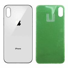 Apple iPhone X Back Glass SILVER OEM Replacement Battery Door Cover