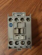 Used Allen Bradley 100-C09D10 Contactor  120V Coil (rated 5hp @ 480v)