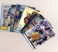 JEROME BETTIS 8 Pc Lot - Prizm, SPX, Certified, Legends & Panini - Steelers