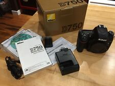 """EXCELLENT"" Nikon D750 24.3MP Digital SLR Camera Body LOW SHUTTER COUNT"