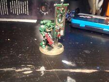 Warhammer 40k Ángeles de marines espaciales oscuro Primaris Antigua Pro Pintado