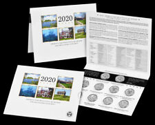 2020 America the Beautiful Quarters Uncirculated Coin Set - Ready To Ship!