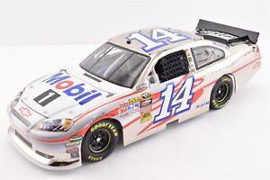 2011 Tony Stewart #14 Mobil 1 Polished Nickel Speedway Chevy 1/24 Diecast Car