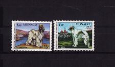 MONACO  exposition canine  chien    1978   num: 1163/64   **