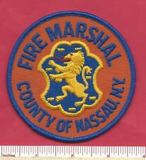 Nassau County New York State of NY Fire Marshal Law Enforcement Police Patch