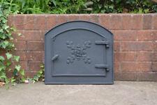 49 X 45 cm de hierro fundido fuego puerta puertas de horno de arcilla/Pan Pizza Estufa Chimenea