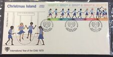 1979 Christmas Island year of the child first day cover