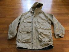 Men's Medium Made USA VTG Woolrich 60/40 Cotton Blend Parka Hooded Jacket Coat