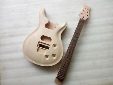 1 set  Unfinished electric guitar body with neck , Excellent handcraft