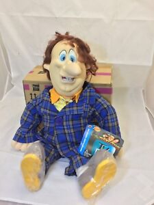 The Three Stooges 22' Larry  Doll 1996 TV Pals Spumco Vintage