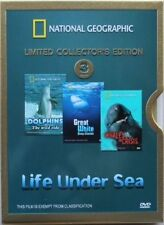 National Geographic - Life Under Sea: STEELBOOK (DVD, 2006, 3-Disc Set)NEW ..R 4