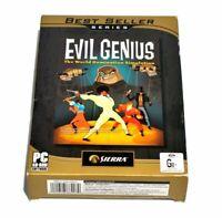 Evil Genius The World Domination Simulation Game PC Best Seller Series (2004)
