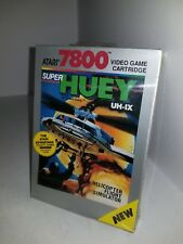 Atari 7800 Video Game Cartridge Super Huey Uh-ix Complete