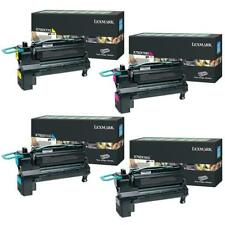 SET Lexmark Genuine X792X1KG X792X1MG X792X1YG X792X1CG For X792 - 20,000 Pages