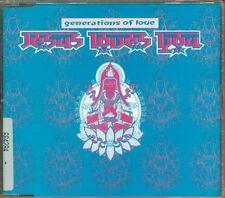 Generations Of Love - Jesus Loves You 3 Tracks Cd Eccellente Spedizione in 48 H