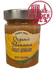🔥 Trader Joe's Organic Banana Fruit Spread 10 oz 🔥 New