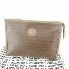 Mario Valentino Clutch bag Brown Woman unisex Authentic Used T6673