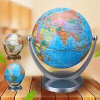 360° Blau Rotierende Globus Erde Ozean Globus Welt Geographie Karte Desktop Deko