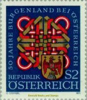 EBS Austria 1971 - 50 Years Burgenland as part of Austria - ANK 1400 MNH**