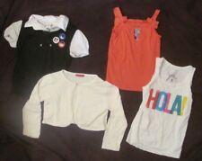 Girl's Size 6 / 7 Shirt Tank Top Shrug Sweater Gymboree Princess Faith Lot of 4