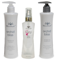 White Sands Orchid Bliss Shampoo & Conditioner 281ml + Orchid Oil 100ml