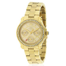 Juicy Couture Pedigree Mini Gold Tone Stainless Steel Women's Watch - 1901105