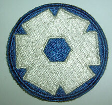 AMERICAN PATCHES-ORIGINAL WW2 UNITED STATES 6th SERVICE COMMAND SNOWY BACK