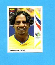 PANINI-GERMANY 2006-Figurina n.90- FRANKLIN SALAS - ECUADOR -NEW BLACK