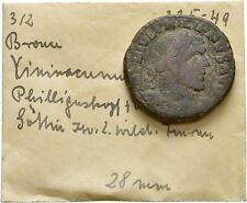 Ancient Rome Philip I 244-249 AD Viminacium, Large Æ DACIA betw lion & bull
