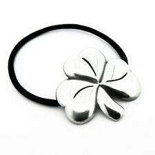 Irish Pewter Celtic Shamrock Hair Bobbin