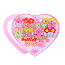 20Pairs Cute Clip-On No Pierced Earrings For Kids Child Girls Christmas Gift BDA