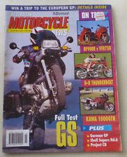 1994 AUSTRALIAN MOROTCYCLE NEWS MAGAZINE- BMW R1