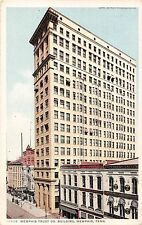Tennessee postcard Memphis Trust Co. Building bank