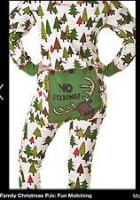 c4527dbd8c Lazy One No Peeking Matching Family Pajamas Set New With Tags Kids Size 10