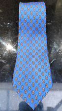 Mens silk tie Angelo Bosani by Tie Rack Blue Red Made in Italy