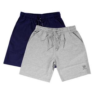 Shorts short Pants Bermuda Suit Sports Laces Blue Grey Cotton