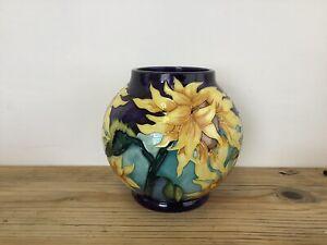 Moorcroft Limited Edition Topeka Pattern Globular Vase