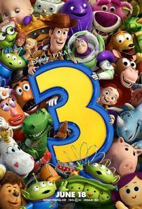 Toy Story 3 35mm Film Cell strip very Rare var_e