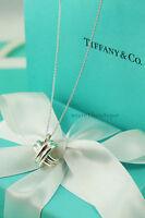 "AUTHENTIC Tiffany & Co. Signature X Pendant Necklace 16"" (#858)"